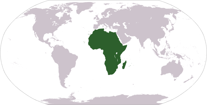 Map of Africa (Africa on the worldmap) : Worldofmaps.net - online ...