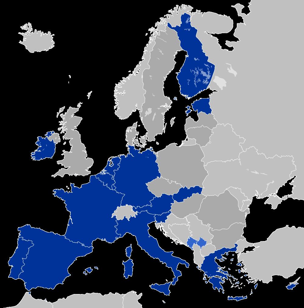 Map European Union (Map Eurozone) : Worldofmaps.net - online ...