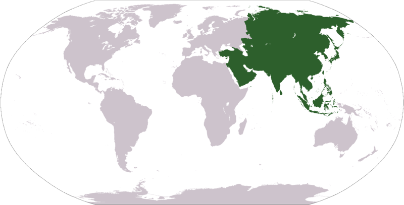 Maps of Asia (Continent Asia) : Worldofmaps.net - online ...