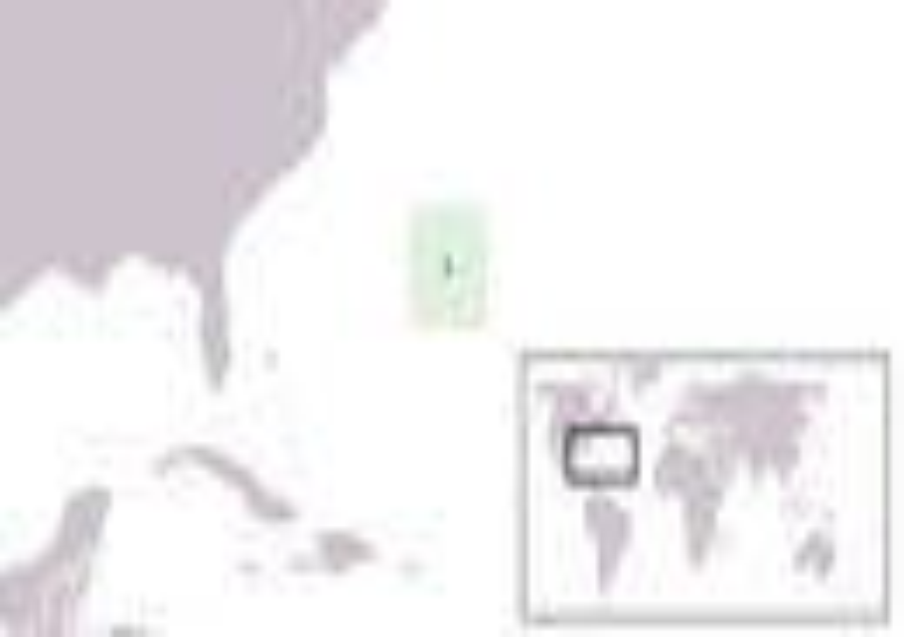 Map of Bermuda Islands (Topographic Map= : Worldofmaps.net ...