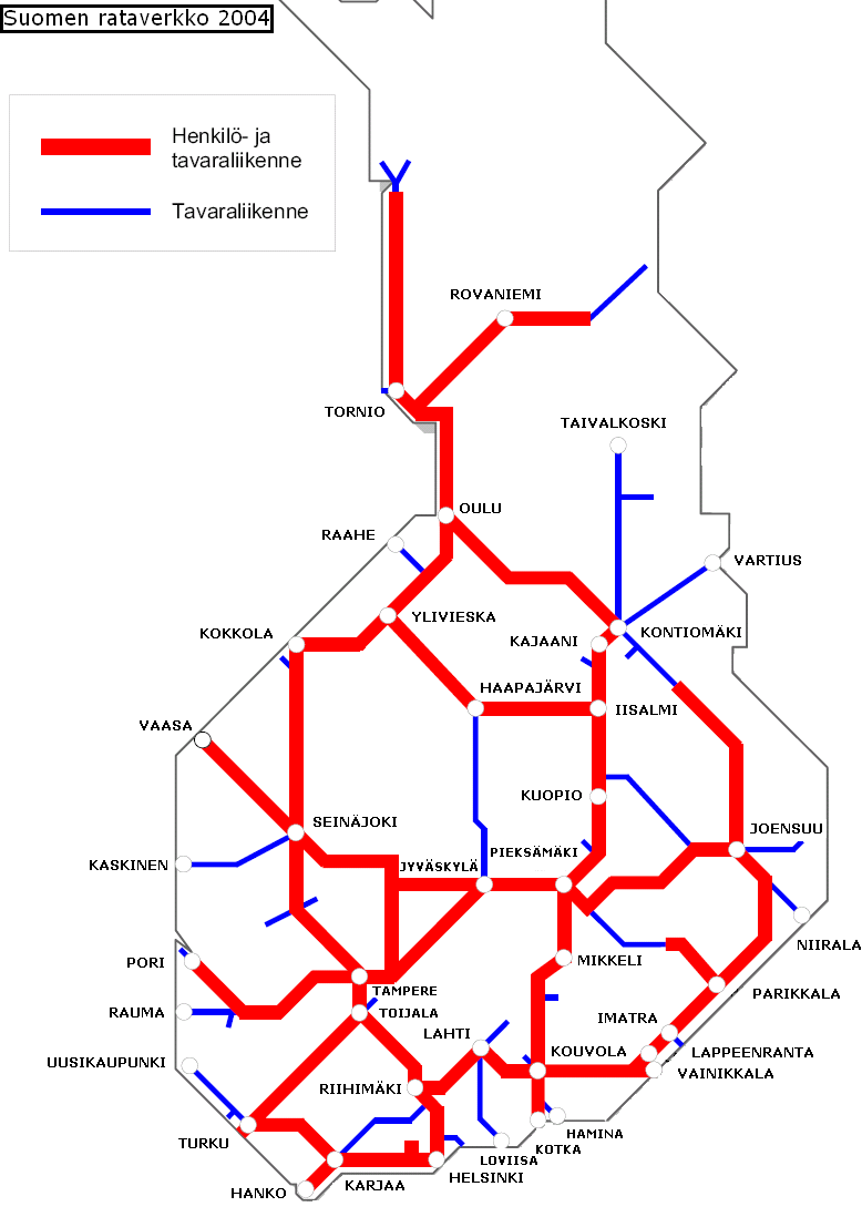 Map Of Finland Maps Train Tickets