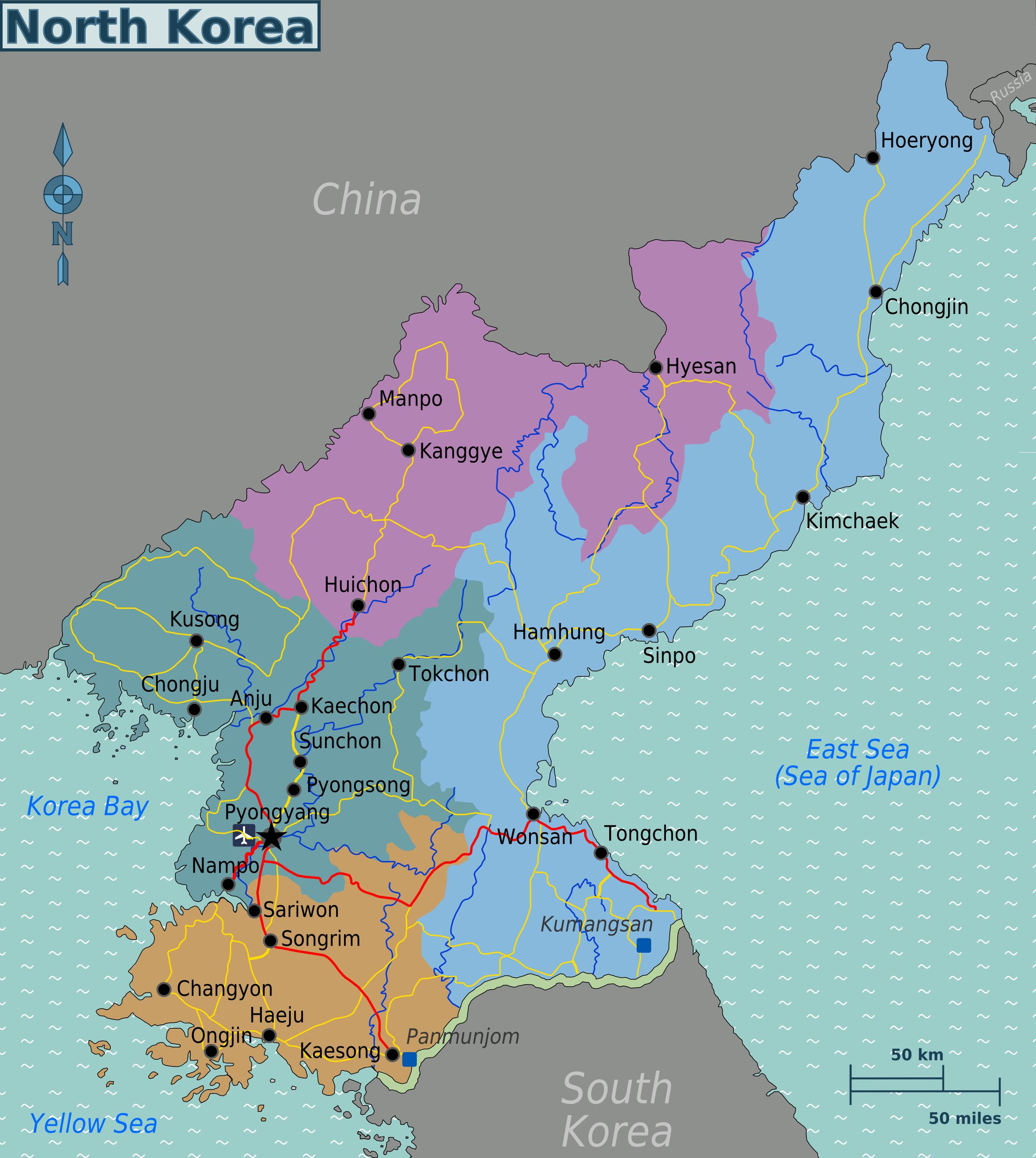 weltkarte korea Map of North Korea (Map Regions) : Weltkarte.  Karten und  weltkarte korea