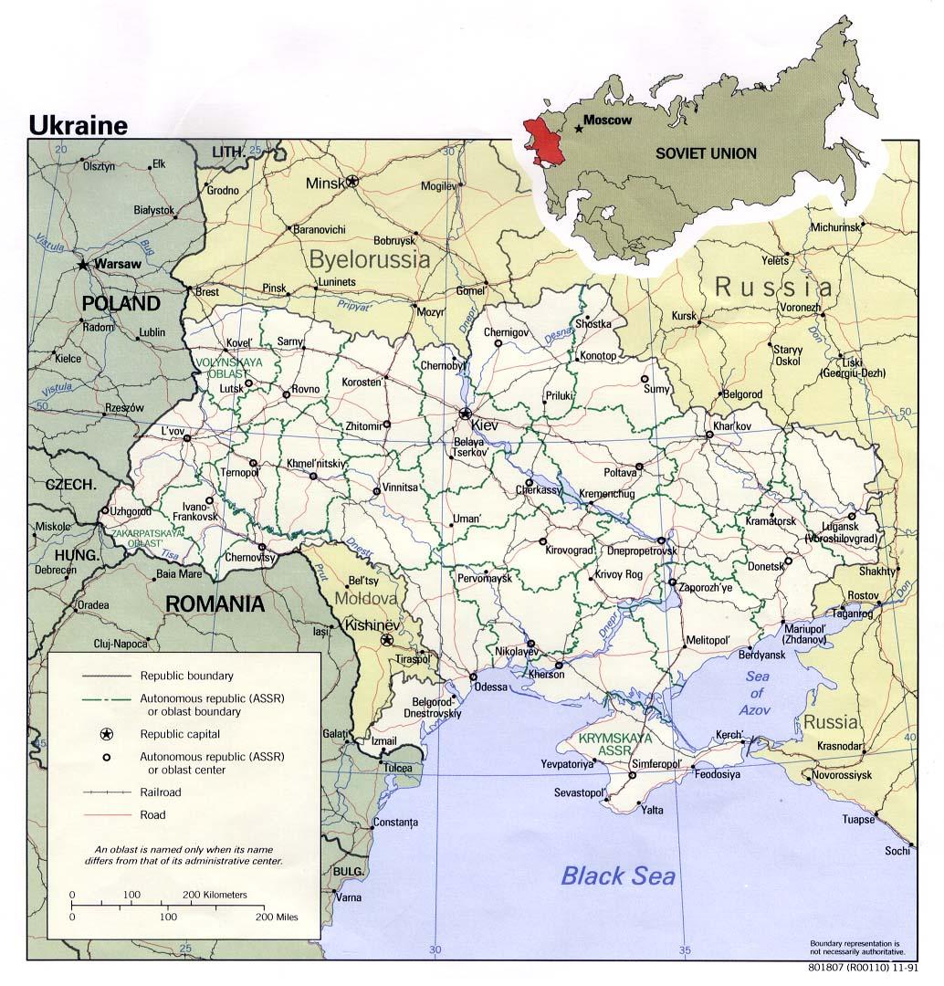 Map Of Ukraine Political Map Worldofmaps Net Online Maps And