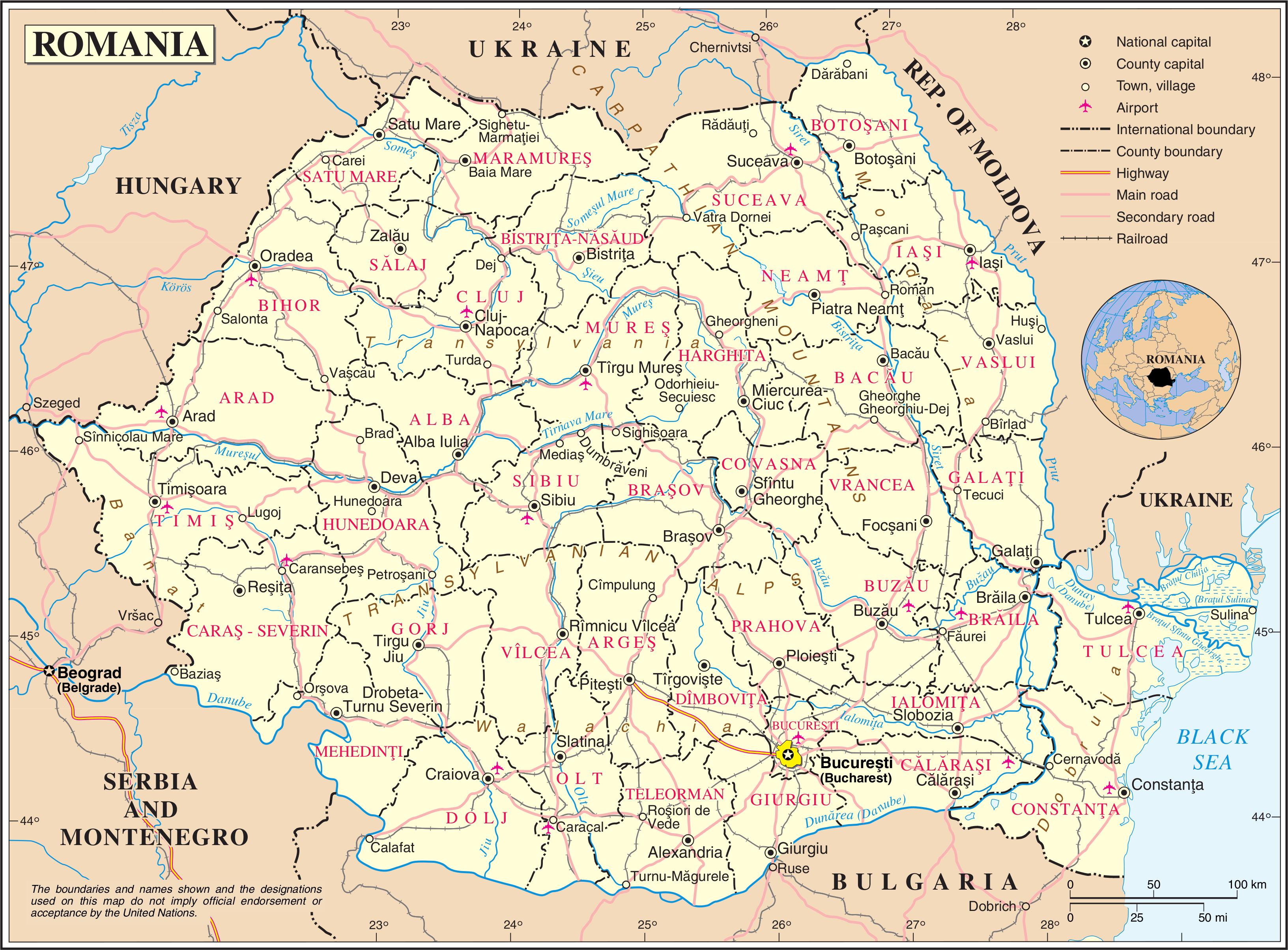 A BRIEF HISTORY OF ROMANIA