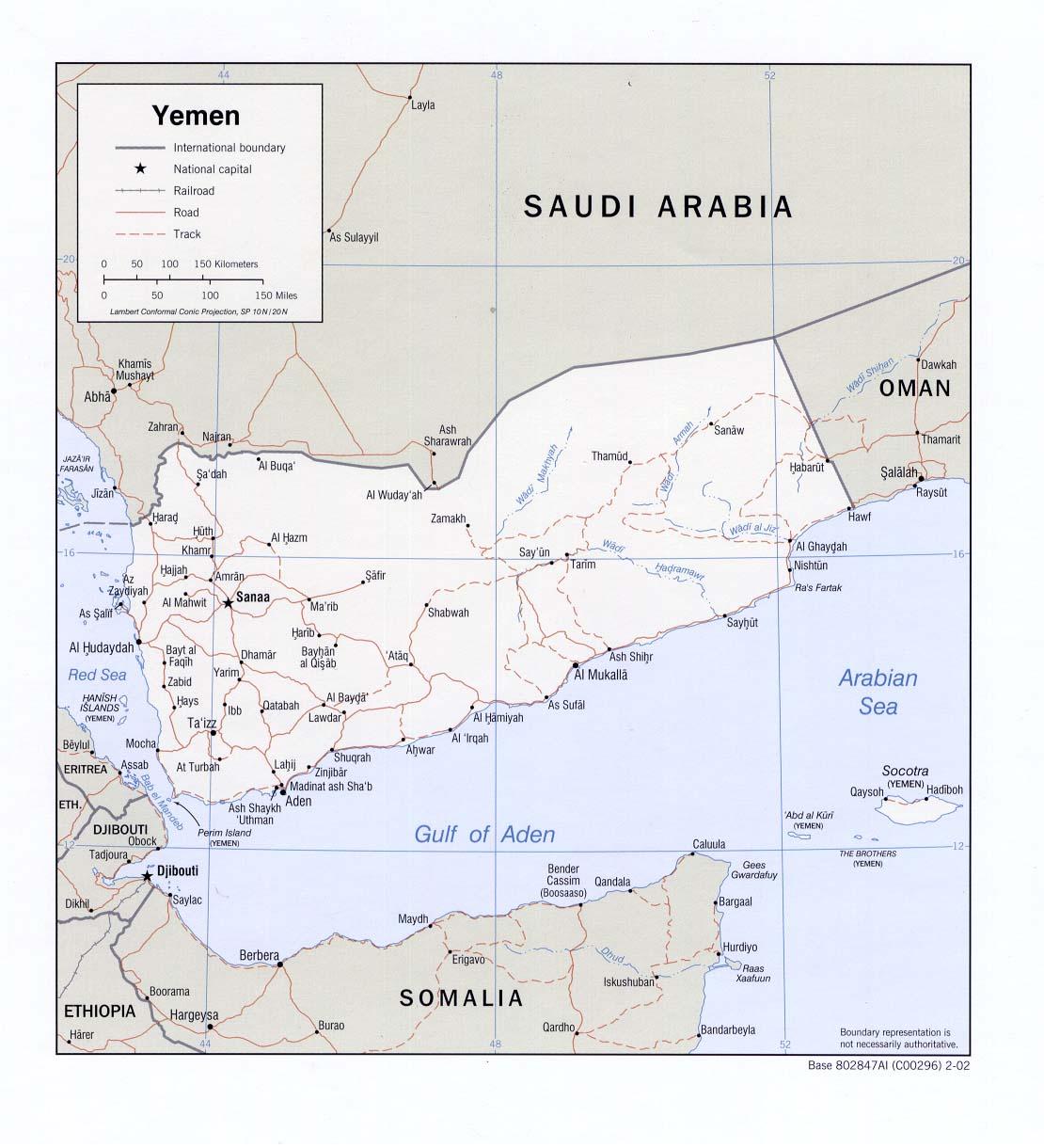 Map Of Yemen Political Map Weltkarte Com Karten Und