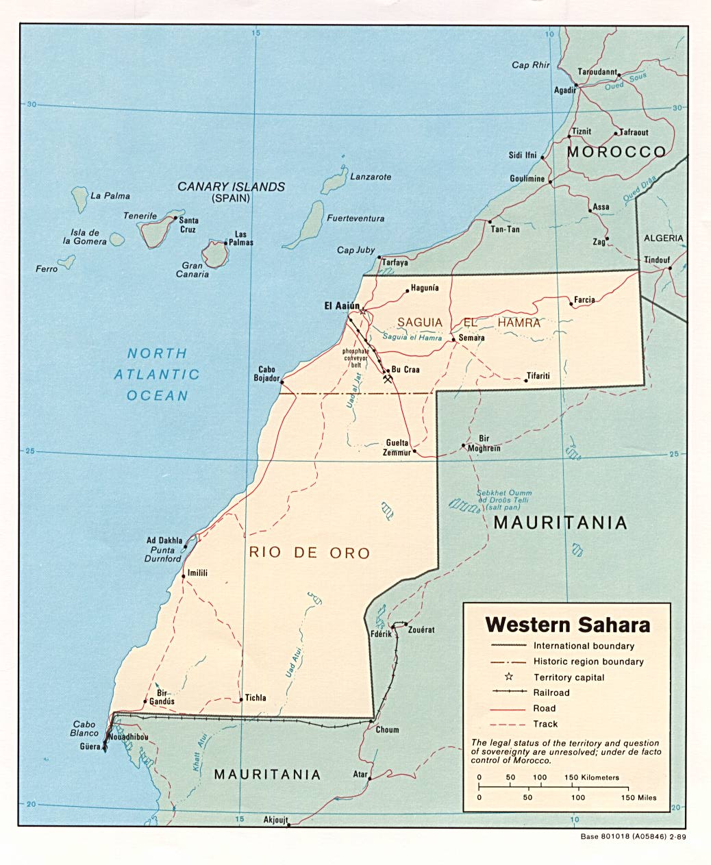 Sahara Karte.Map Of Western Sahara Political Map Worldofmaps Net Online