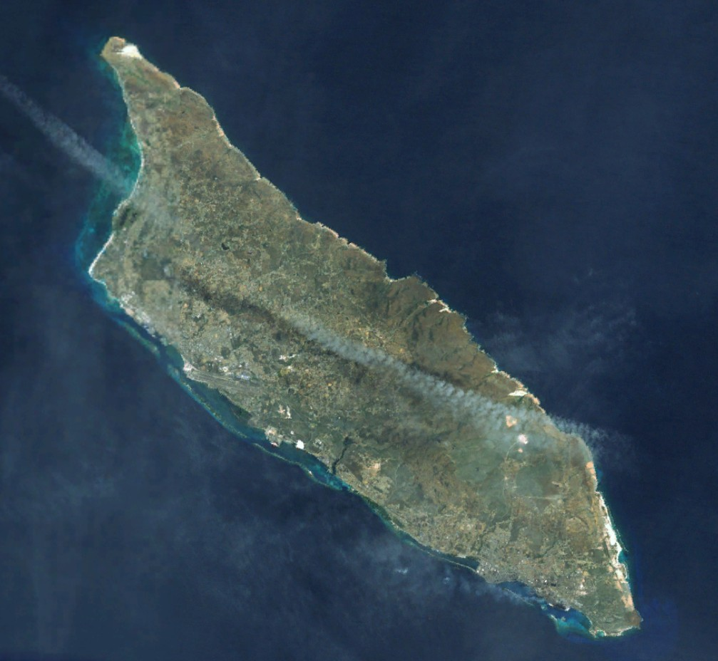 Map of Aruba (Satellite Map) : Worldofmaps.net - online Maps ...